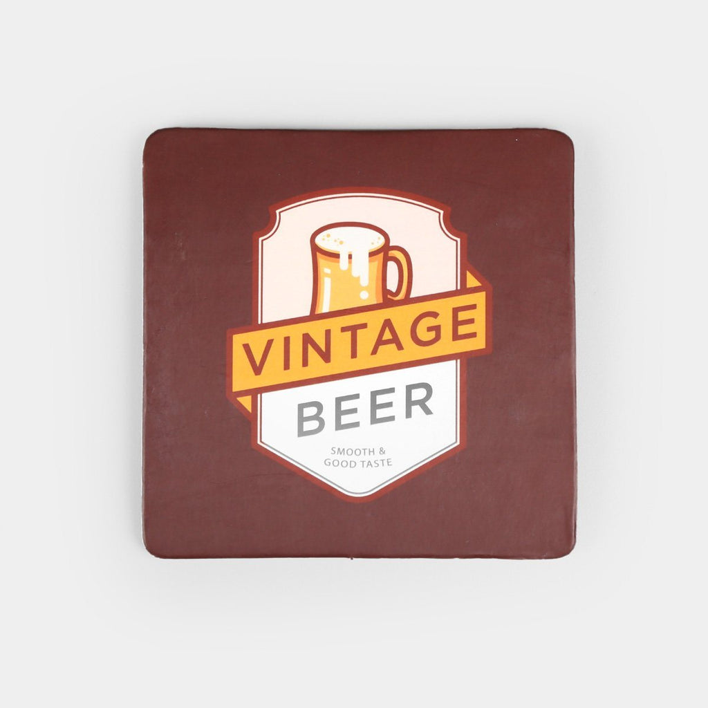 Square Board Coasters (Set of 4)