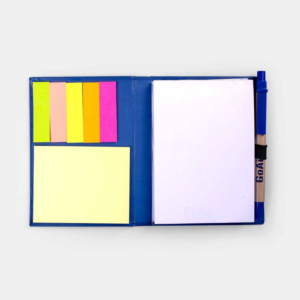 Idea Notebook & Sticky Pad with Pen