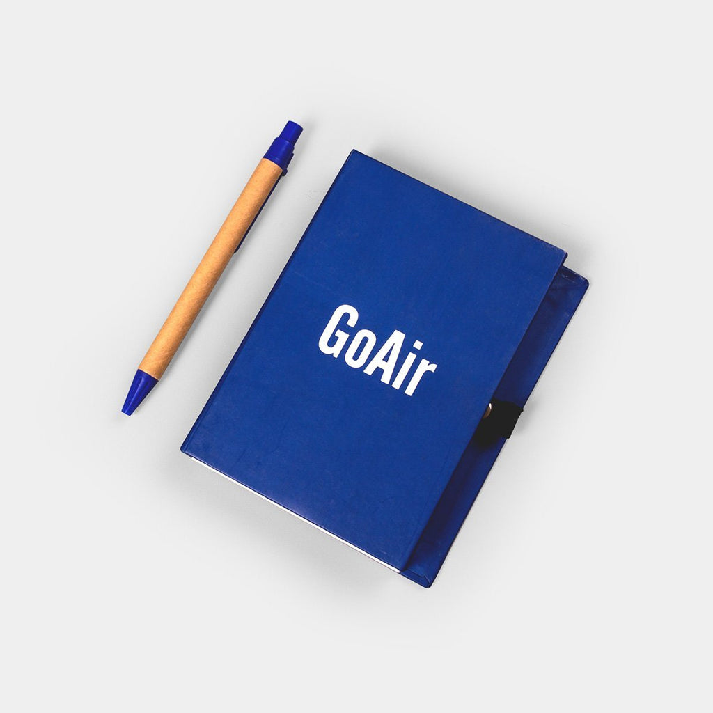 GoAir Notebook & Sticky Pad with Pen