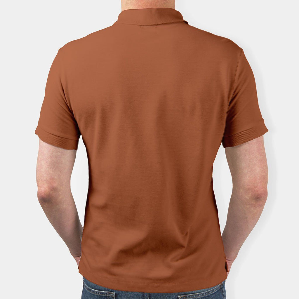 Polyester Polo Neck T-Shirt