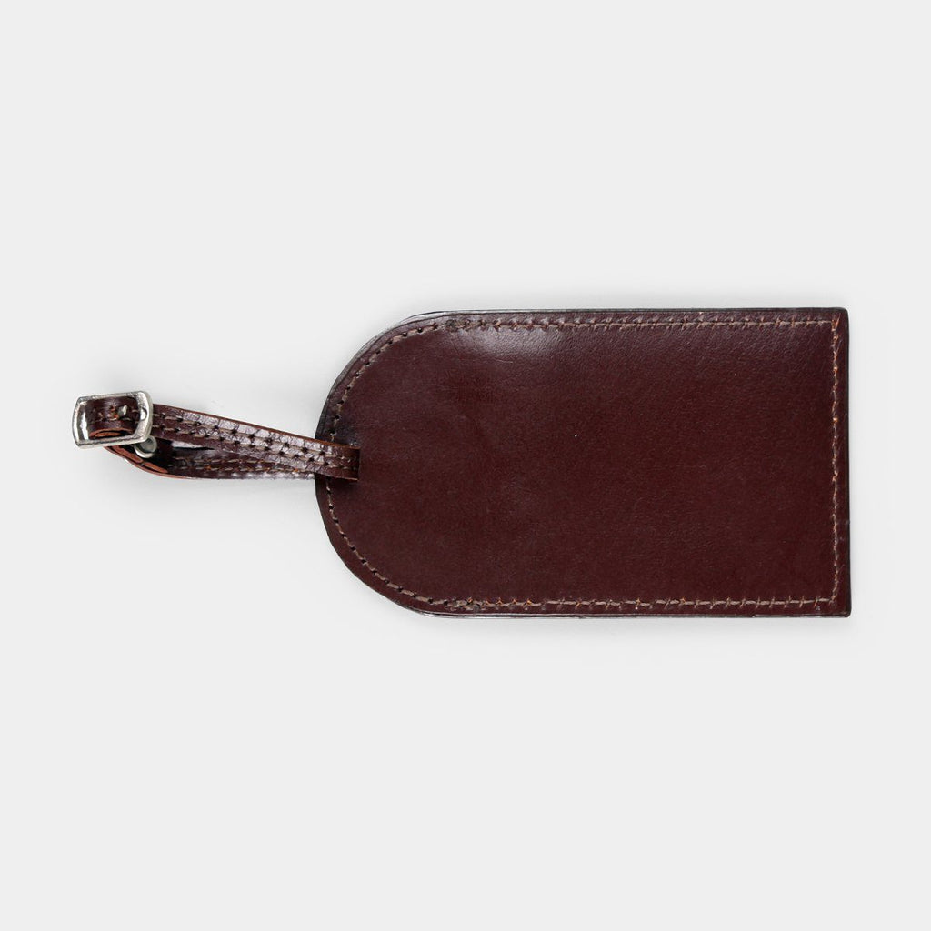 Travel Luggage Tag, Brown