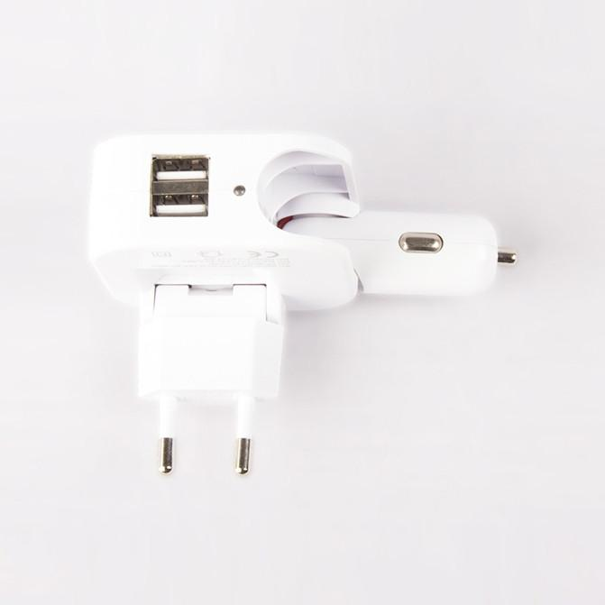 Wall & Car Charger Dual USB