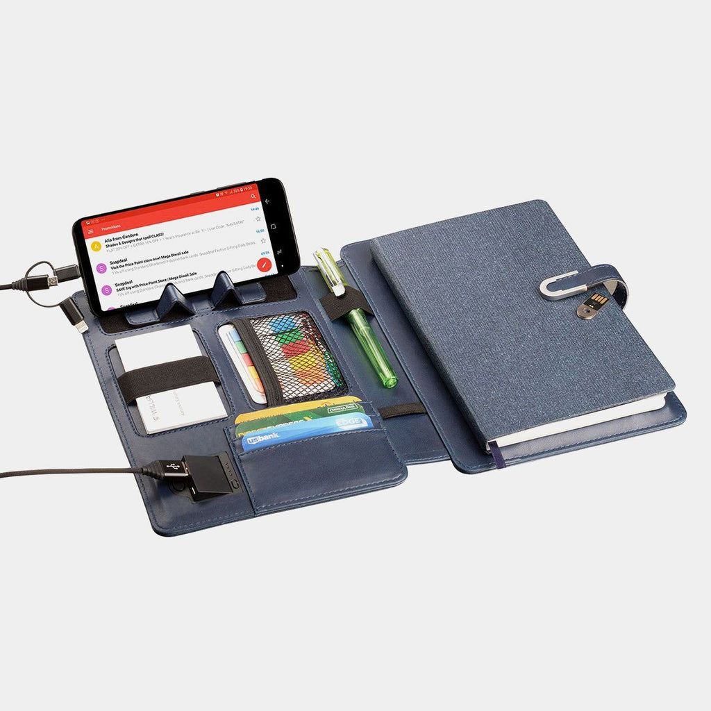 Organizer Wireless With 4000 MAh Powerbank And 16GB Flash Drive