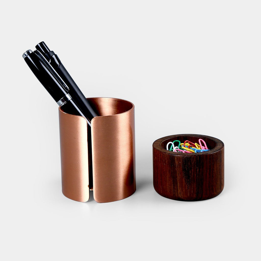 Copper Pen Pot
