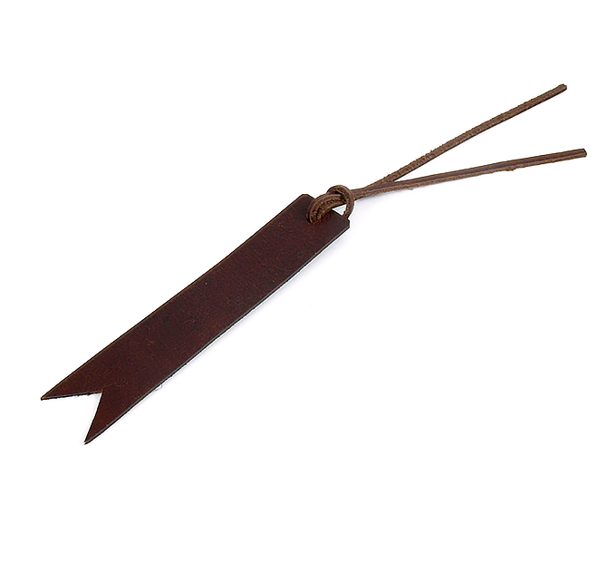 Leather Bookmark - 5by7  - 2