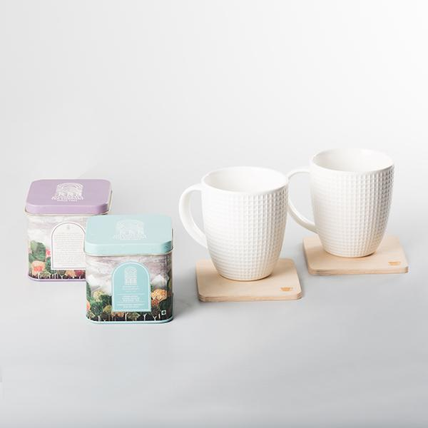 Tea-Mug-Coaster Set