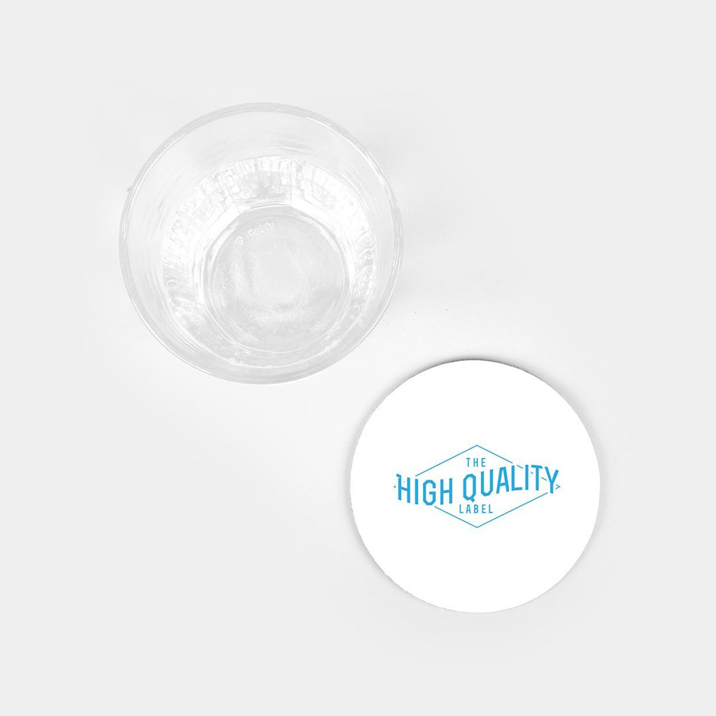 Round Board Coasters (Set of 4)