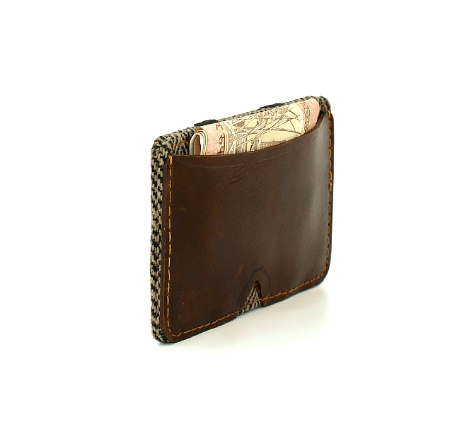 Tweed Wallet - 5by7  - 1