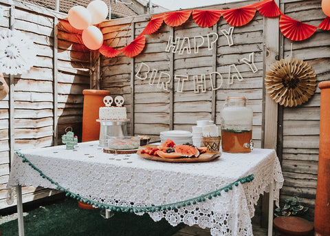 Mexican style boys birthday party theme