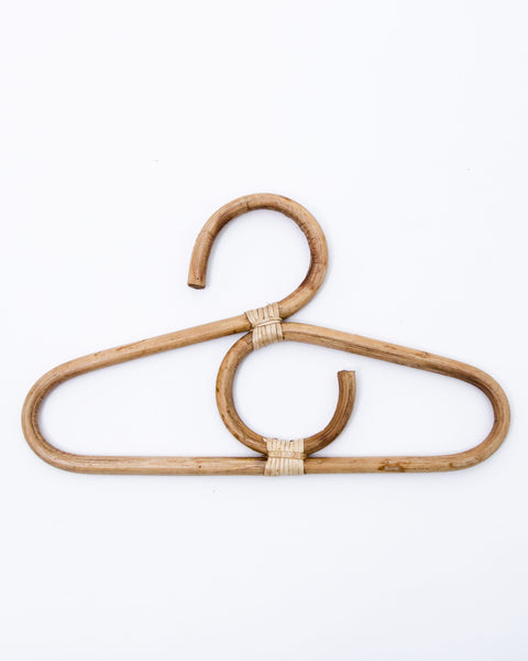 Small rattan hanger (set of 3)