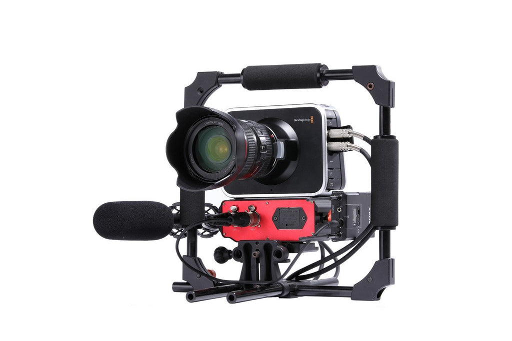 BMCC-A01 - Two-Channel XLR Audio Adapter with Level Controls and Phantom Power for the Blackmagic Cinema Camera