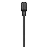 DK5B Professional Water-Resistant 7mm Omnidirectional Lavalier Microphone for Sony UWP, UWP-D and WRT Wireless Transmitters with Locking 3.5mm Input