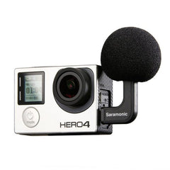 G-Mic Mini Stereo Ball Microphone for GoPro Hero4, Hero3 & Hero3+ Action Cameras