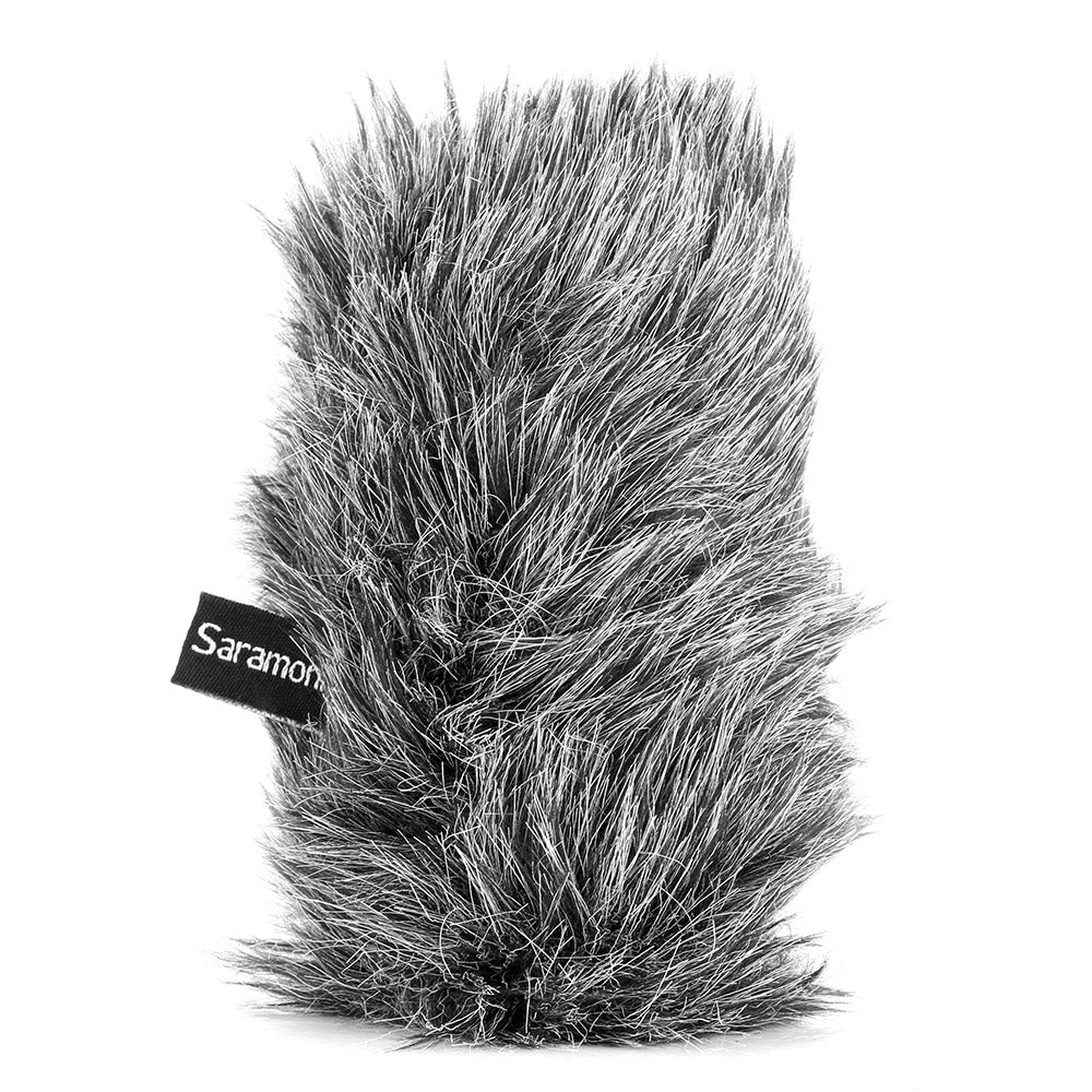 M3-WS Furry Windscreen for Saramonic SR-M3 On-Camera Microphone