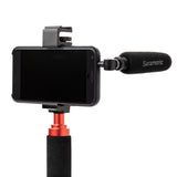 SmartMic5S Unidirectional Micro-Shotgun Microphone with 3.5mm TRRS Output for Smartphones, Tablets, Computers and more with a 3.5mm Headphone Port