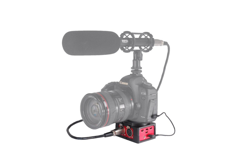 SR-AX101 - Universal Audio Adapter with Dual XLR Inputs for DSLR Cameras & Camcorders