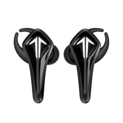 SR-BH60-B GamesMonic Bluetooth 5.0 Wireless TWS Earbuds with Built-in Mic, Charging Case, IPX5 Water Resistance, Premium Sound & Enhanced Bass (Black)