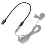 "SR-C2000 3.5mm TRS Male to Apple Lightning Connector Microphone & Audio Adapter Cable 9"" (22.86cm)"