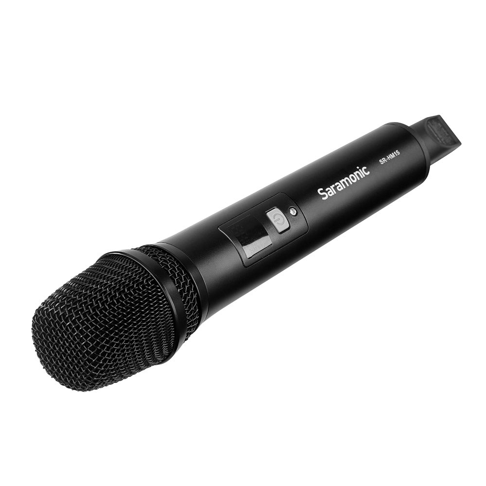SR-HM15 UHF Wireless Handheld Interview Microphone for the UwMic15 SR-RX15 Receiver