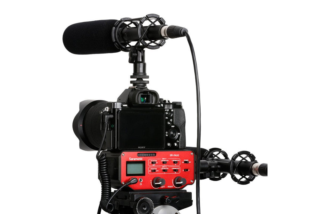 SR-PAX2 - Universal Audio Adapter for DSLR Cameras