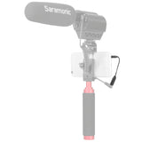 "SR-UC201 1/8"" (3.5mm) Female TRS Microphone Adapter Cable to 1/8"" (3.5mm)  Male TRRS for iPhone, iPad, & Android Smartphones & Tablets"