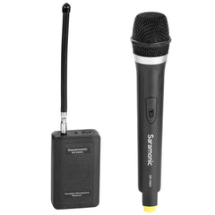 SR-WM4CA Wireless VHF Handheld Microphone System with Portable Camera-Mountable Receiver