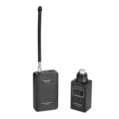 SR-WM4CB Wireless VHF XLR Plug-On Microphone System with Portable Camera-Mountable Receiver