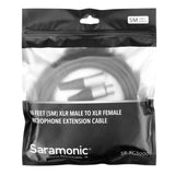 SR-XC5000 16.4-foot (5m) Male to Female 3-Pin XLR Microphone Cable for Studio and Broadcast