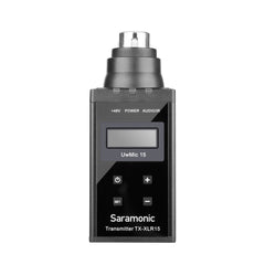 SR-XLR15 Wireless XLR Plug-On Transmitter with +48V Phantom Power for the UwMic15 SR-RX15 Receiver