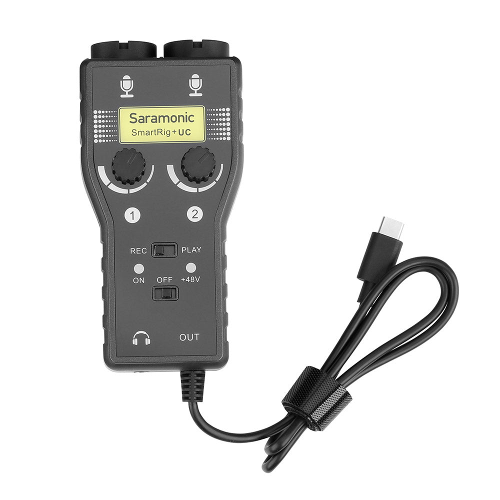 SmartRig+UC Professional 2-Channel Audio Interface with XLR, 1/4