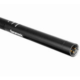 SoundBird V1 Professional Supercardioid Shotgun Microphone with High-Pass Filter, -10dB Pad, Shock Mount, Foam Windscreen & Short XLR Output Cable