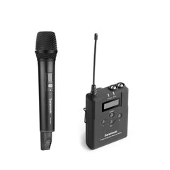 UwMic15A 16-Channel UHF Wireless Handheld Microphone System with Portable Camera-Mountable Wireless Receiver