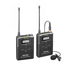 UwMic15 16-Channel UHF Wireless Lavalier Microphone System with Portable Camera-Mountable Wireless Receiver