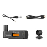 UWMIC9 RX-XLR9 Compact Dual-Channel XLR Plug-In UHF Wireless Reciever for Professional Video, DSLR & Mirrorless Cameras