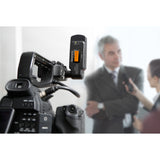 UWMIC9 RX-XLR9 Compact Dual-Channel XLR Plug-In UHF Wireless Receiver for Professional Video, DSLR & Mirrorless Cameras
