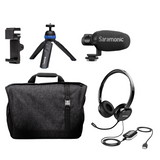 Home Base Personal Audio/Video/Telecommunications Kit for Working from Home or On the Go