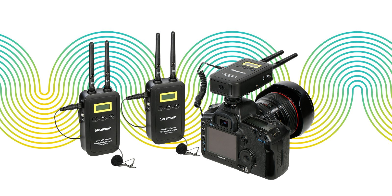 SARAMONIC Wireless System UwMic9