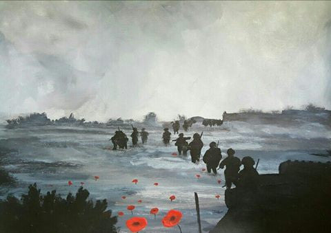 Poppy Art 'Afghan Dawn'