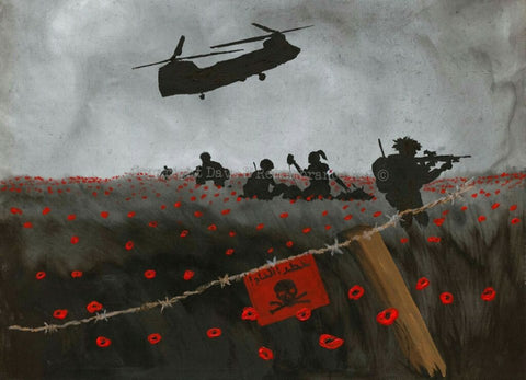 Limited Edition Giclée Print 024 - 'Angels at the Front'