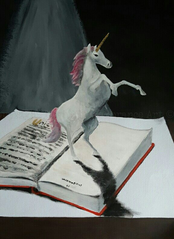 3d unicorn painting