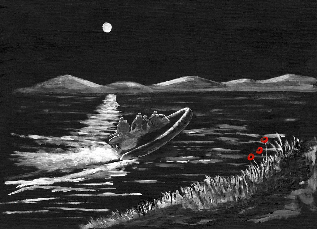230 Limited Edition Giclée Print 230 -  'A night on the Loch'