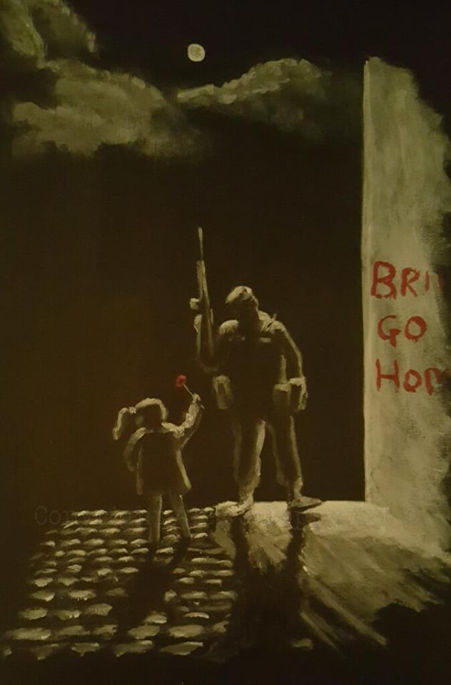 northern ireland remembrance painting
