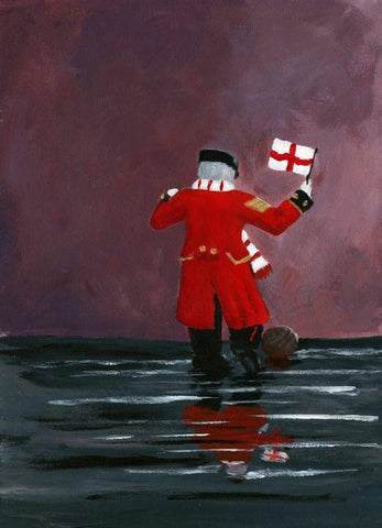 314 Open Edition Giclée Print 314 - 'Come on England!'