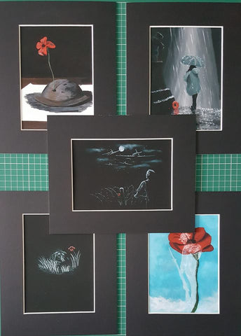 Giclée Mini Print Set - All 5 'mini prints'