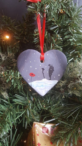 Love Heart Decoration 2018 - 'Sorrow in the snow'