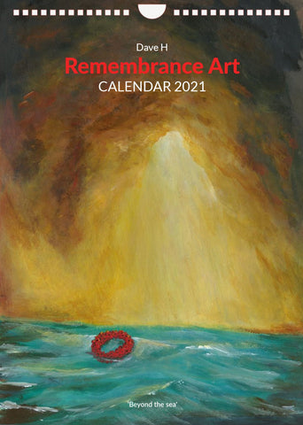 2021 Dave H Remembrance Art Calendar
