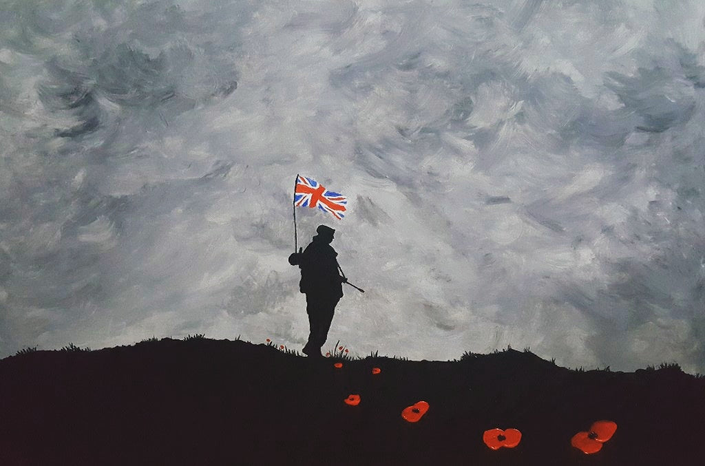 Remembrance Art Falklands War