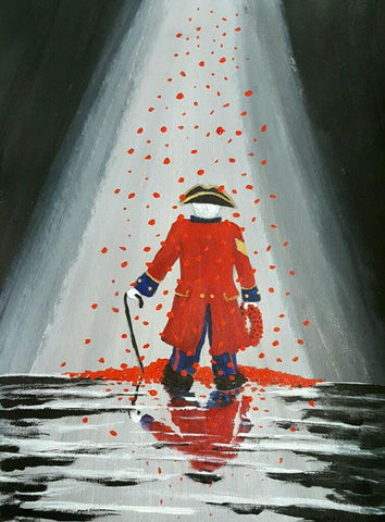 Limited Edition Giclée Print 180 - 'Poppy Shower'