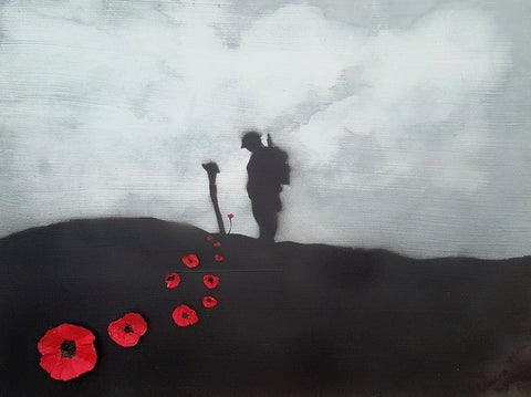 Original Painting - 'Spirit of the Great War'