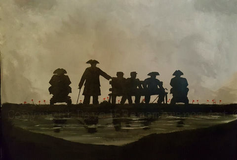 Limited Edition Giclée Print 178 - 'Older Band of Brothers'